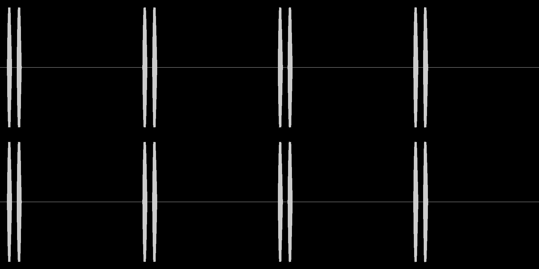 横断歩道 誘導音03-2(ループ) の未再生の波形