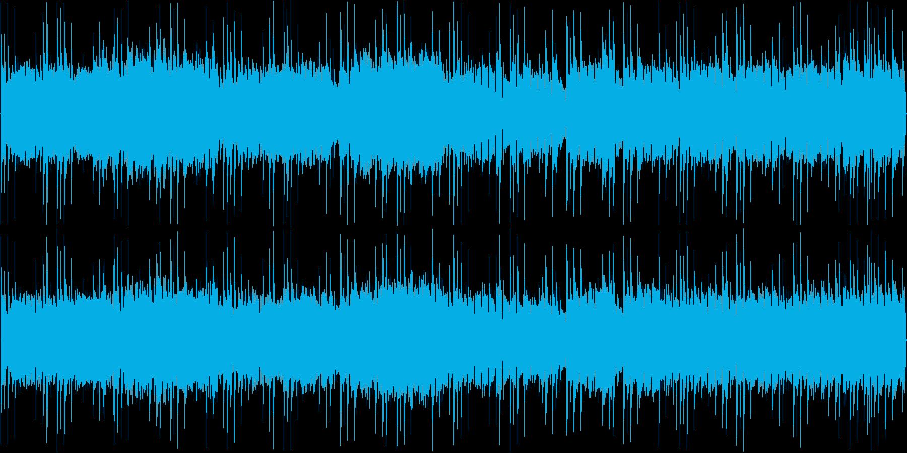 ファンタジー系のRPGなどの編成画面な…の再生済みの波形