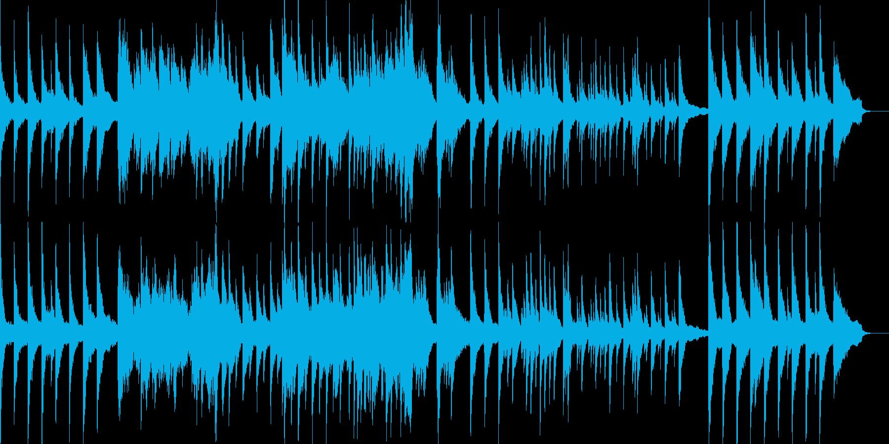 幻想と時の流れをテーマにしたピアノソロの再生済みの波形