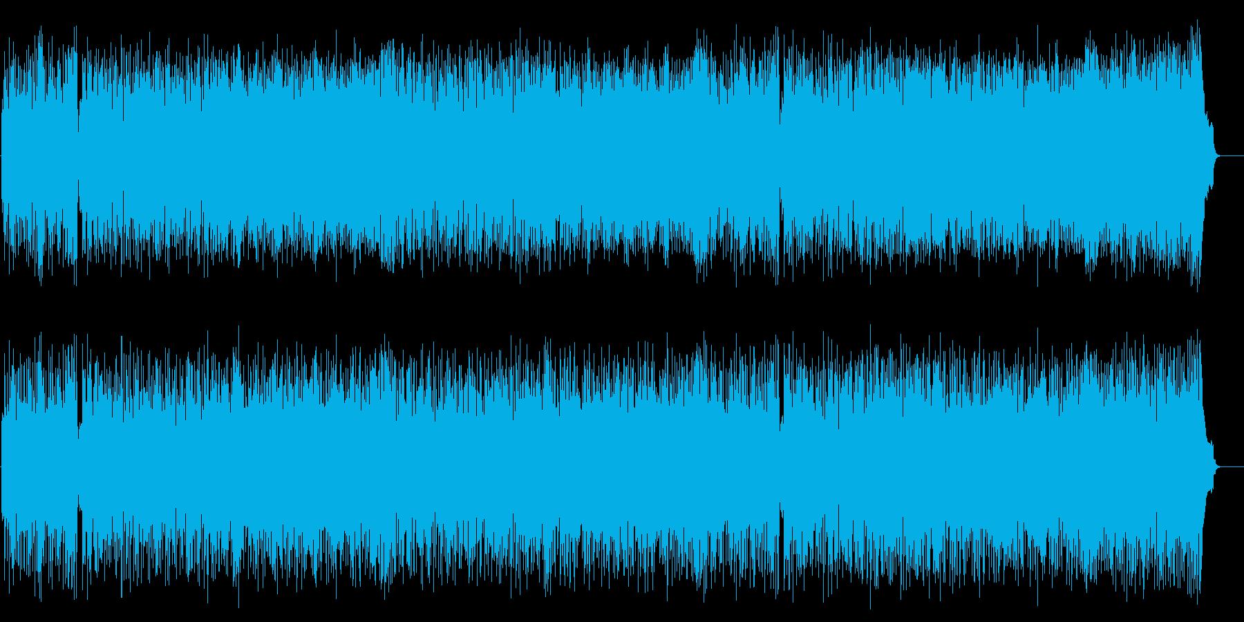 キャッチーで爽やかなポップ・フュージョンの再生済みの波形