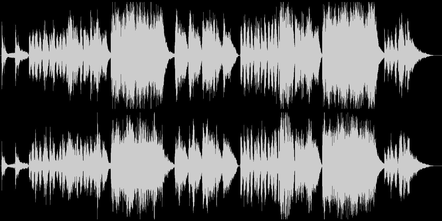 子供の成長記録に切なく清々しいチェロ曲の未再生の波形