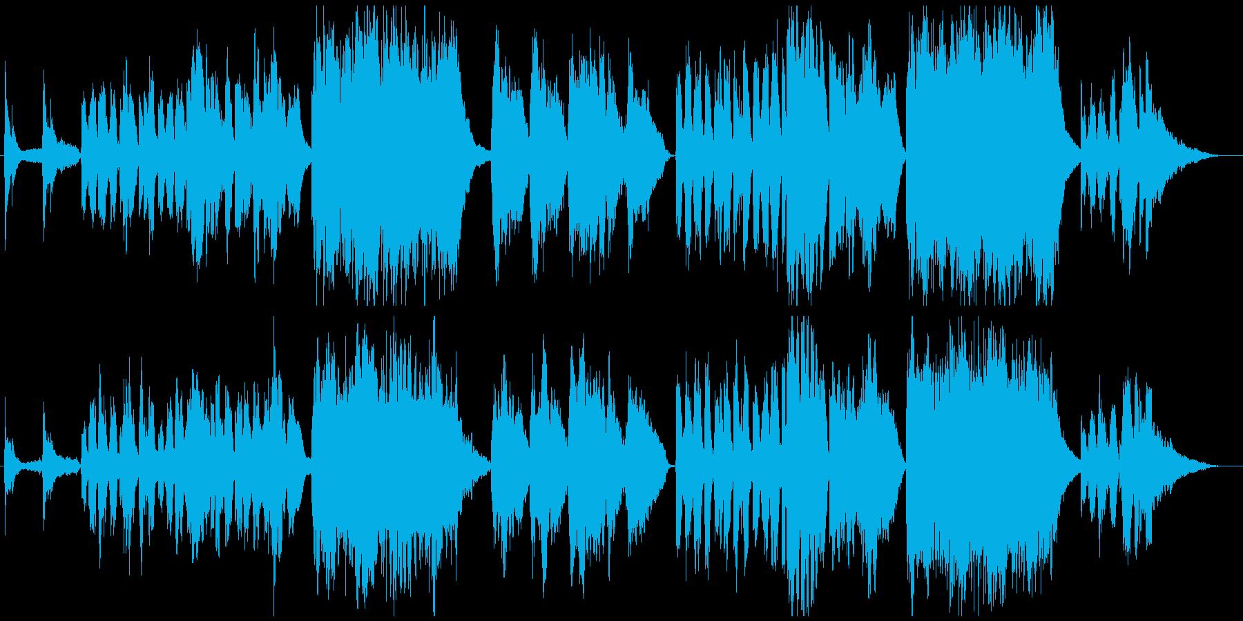 子供の成長記録に切なく清々しいチェロ曲の再生済みの波形