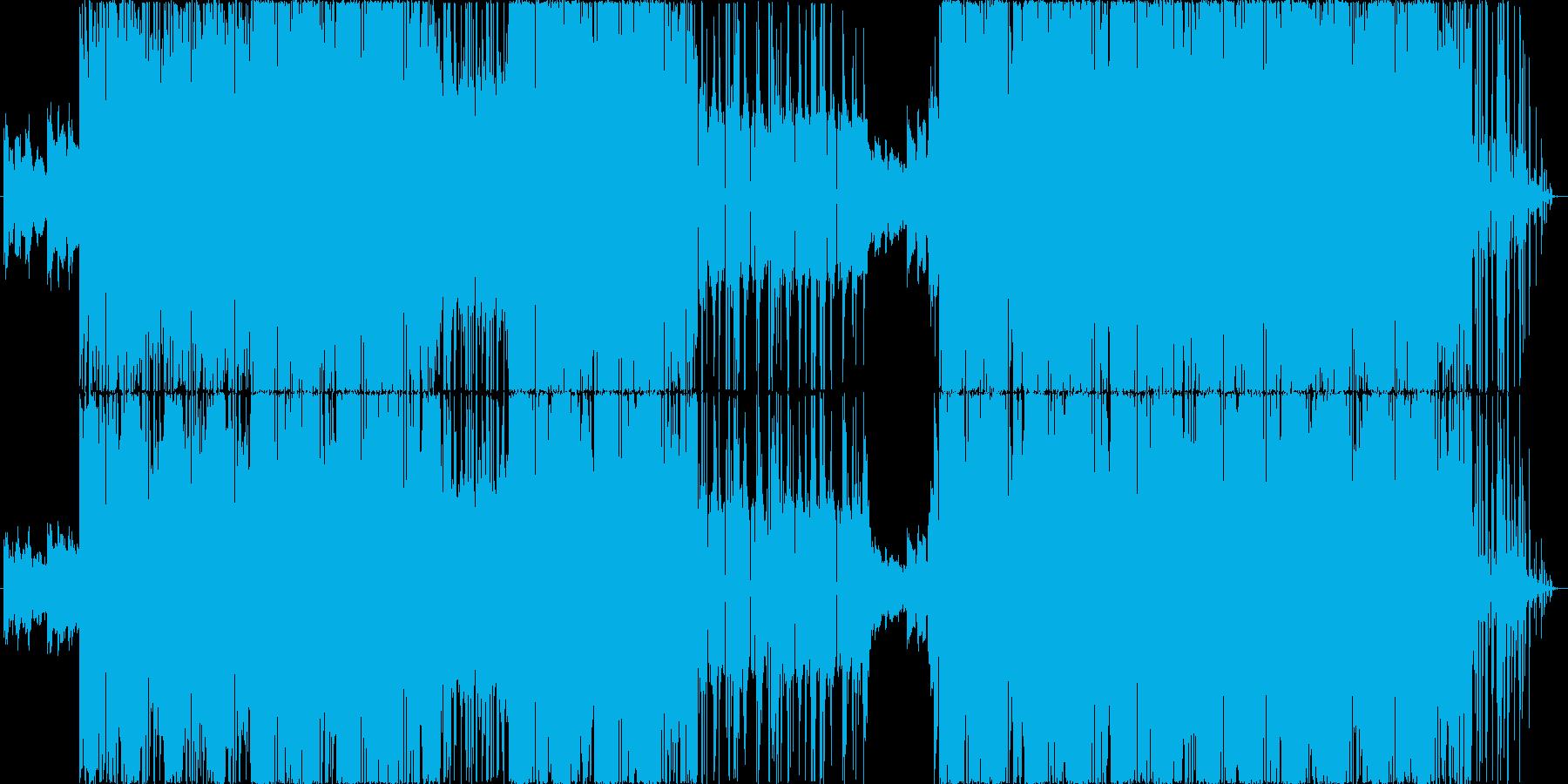 重層音にきらきらシンセサウンド。の再生済みの波形