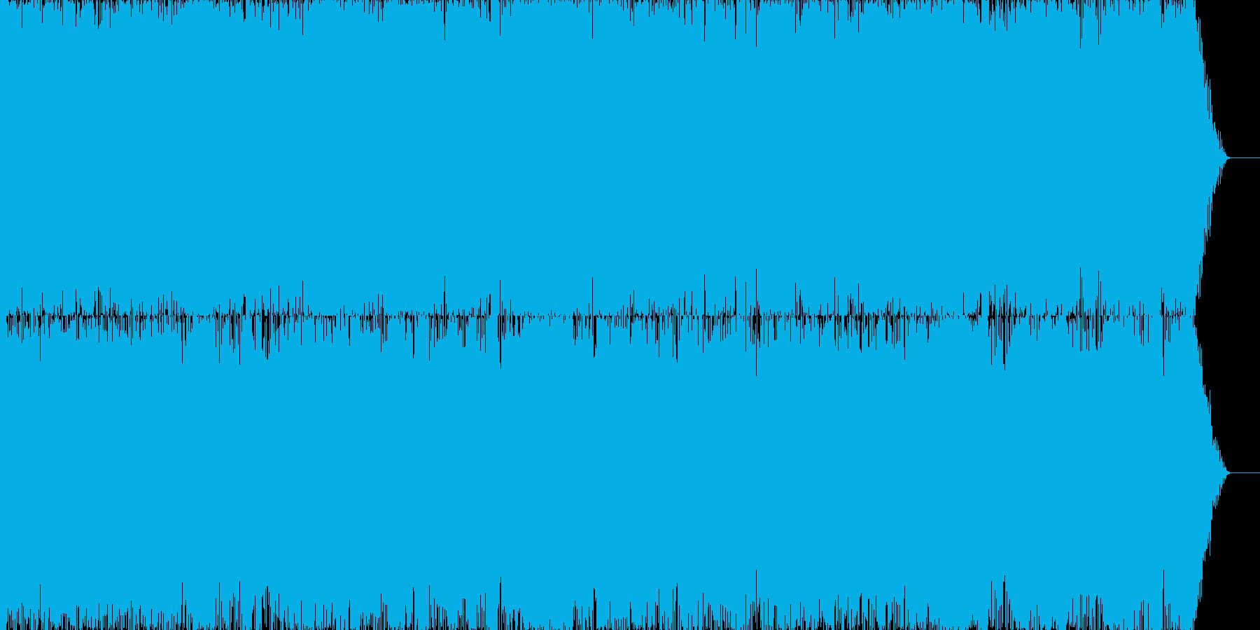 深夜のスローブルースの再生済みの波形