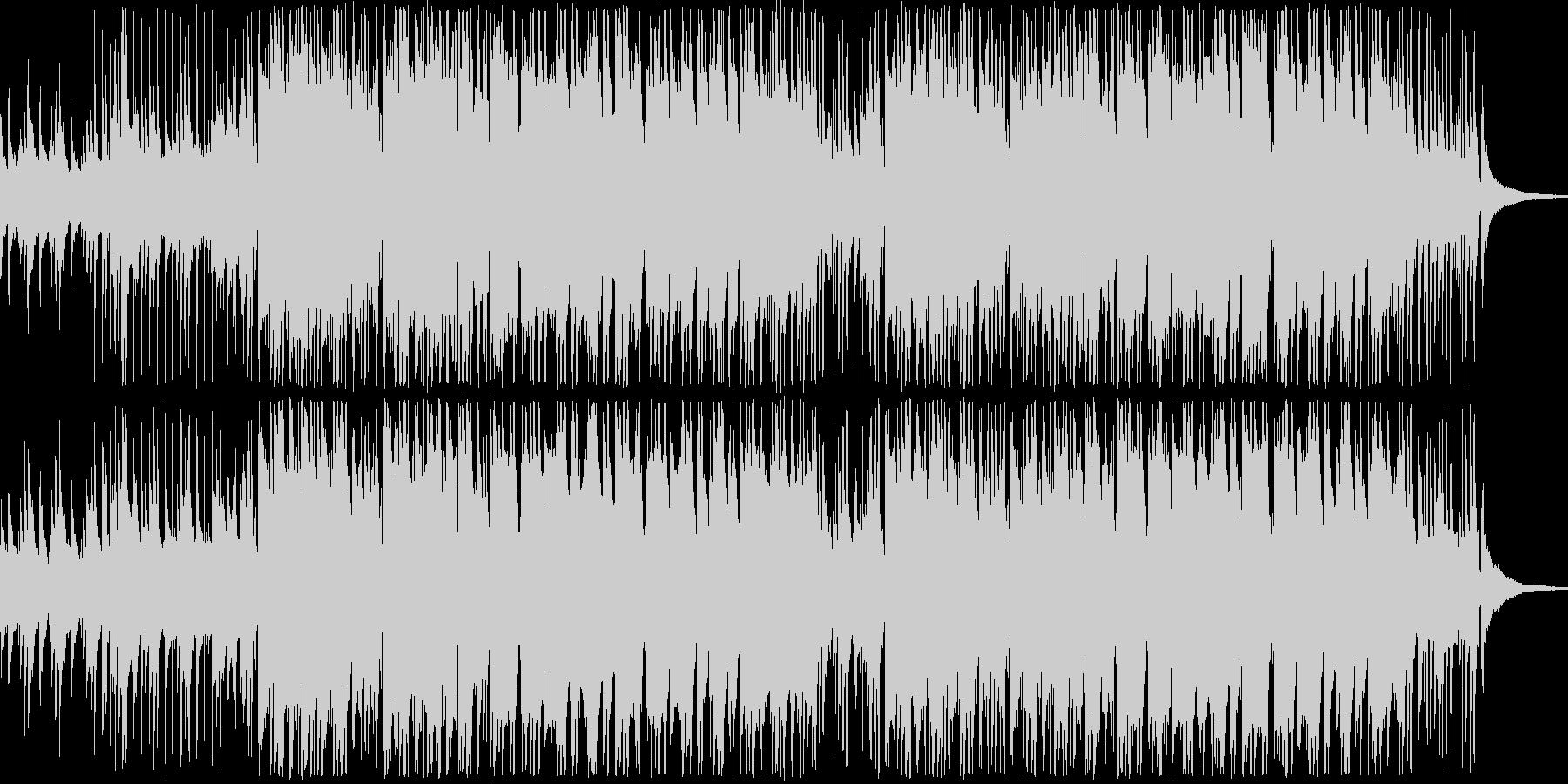 【日常系】アコギとシンセの爽やかな曲の未再生の波形