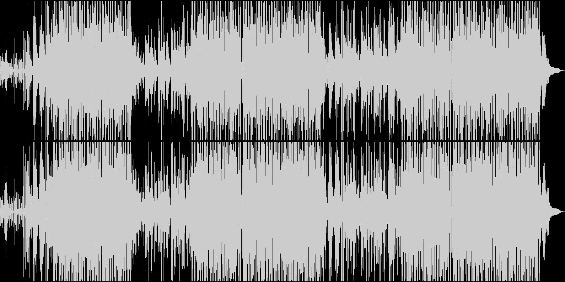 すがすがしいアコースティックなボサノバの未再生の波形