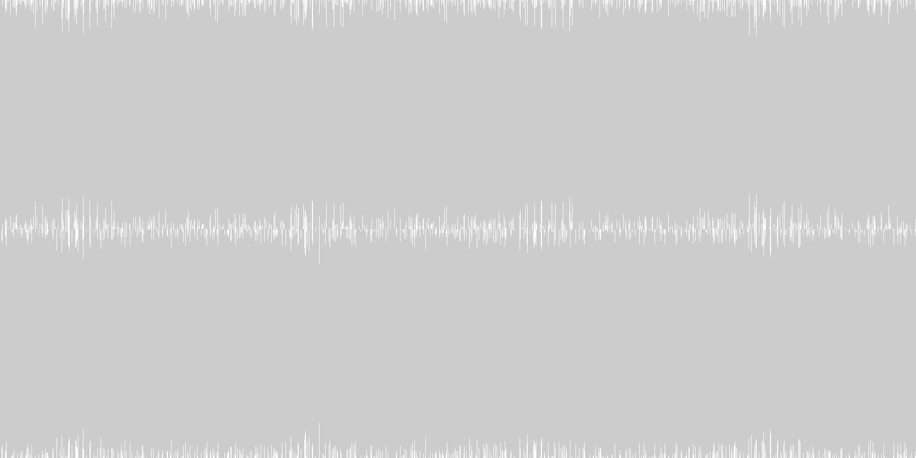 疾走感のあるパンキッシュロックの未再生の波形