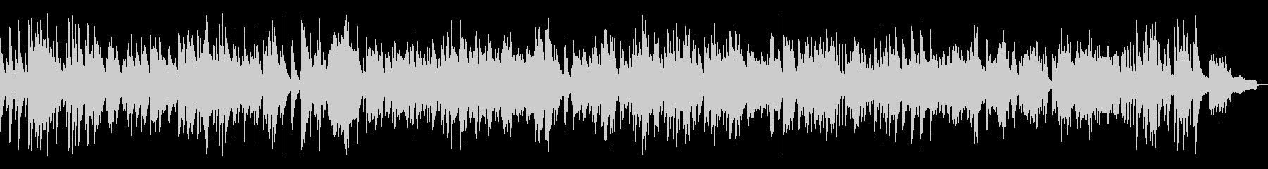 ジャズスタンダードソロピアノ生演奏の未再生の波形