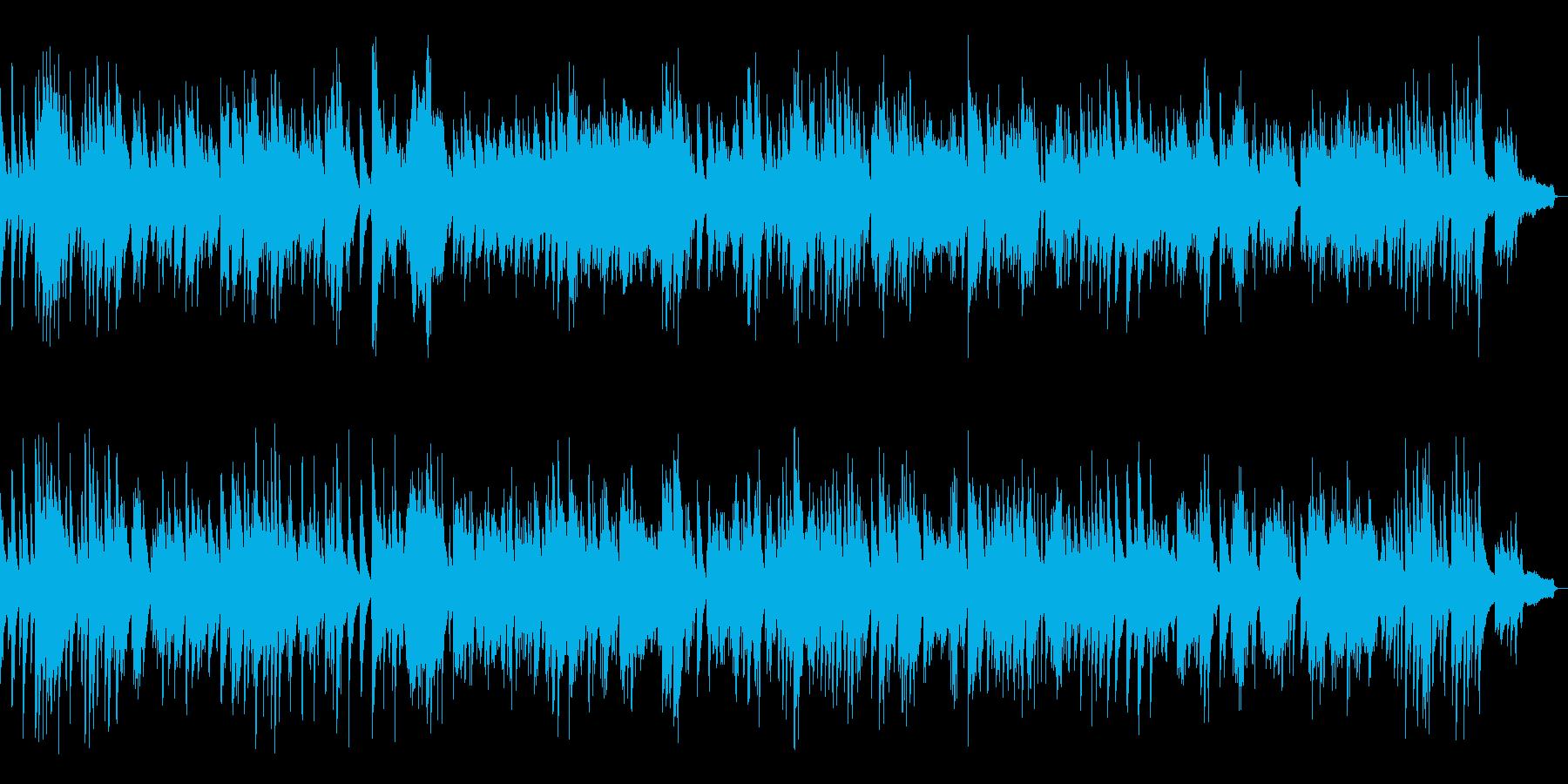 ジャズスタンダードソロピアノ生演奏の再生済みの波形