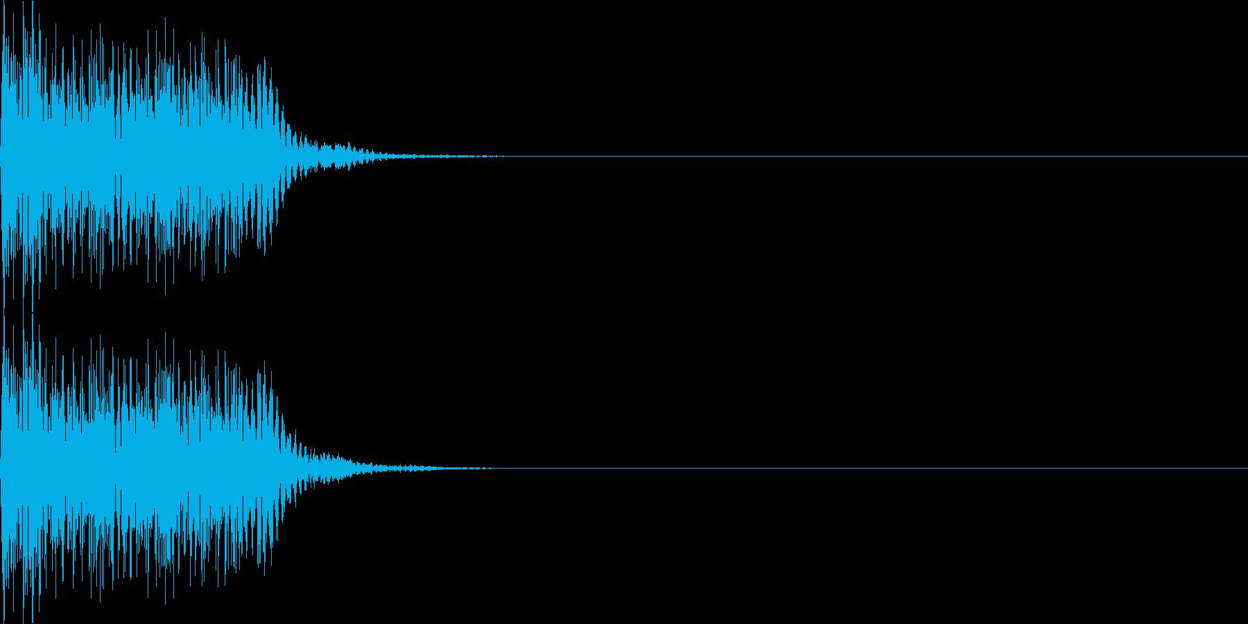 呪文01の再生済みの波形