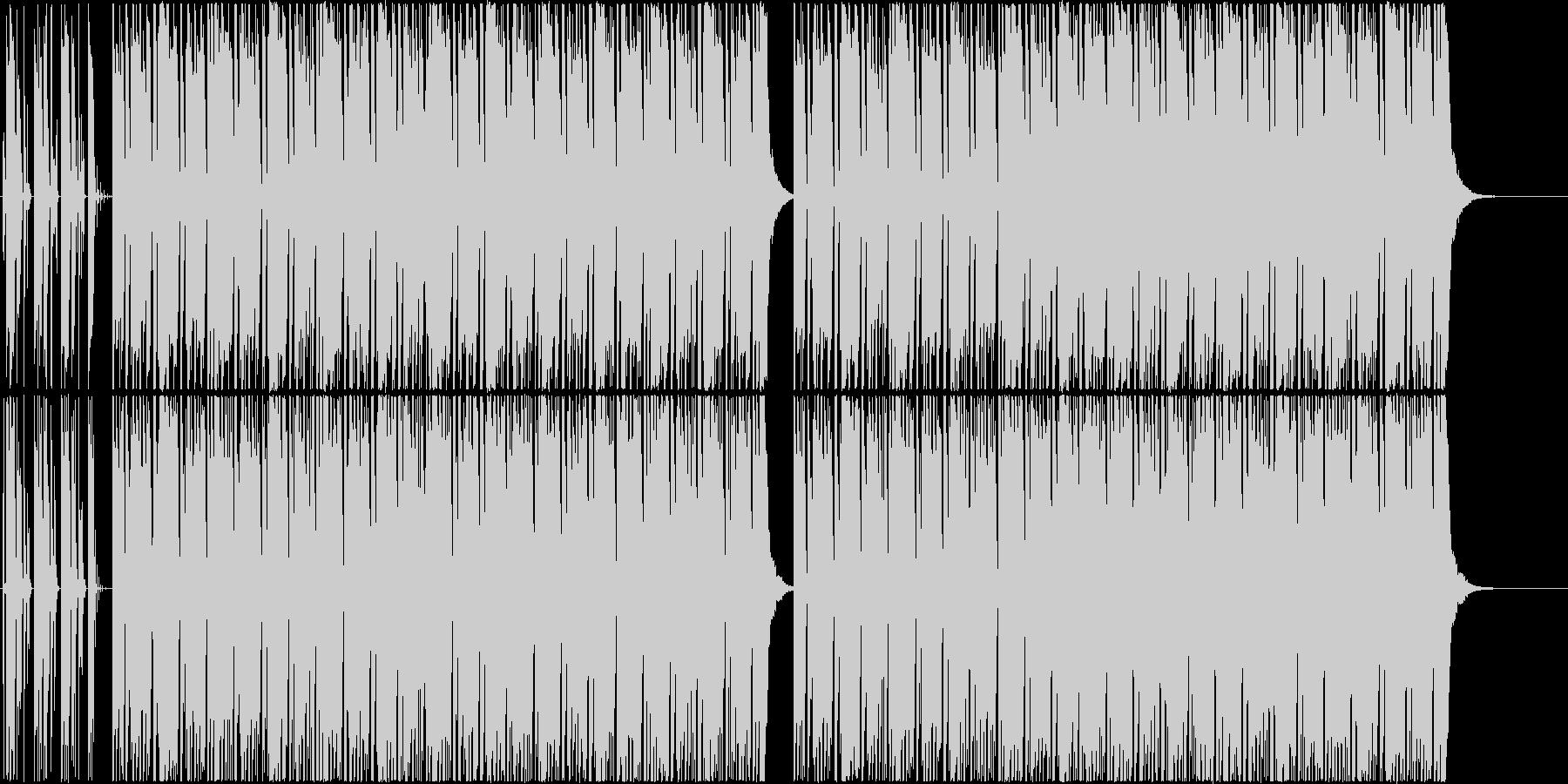 ブルゾンちえみの35億のようなBGMの未再生の波形