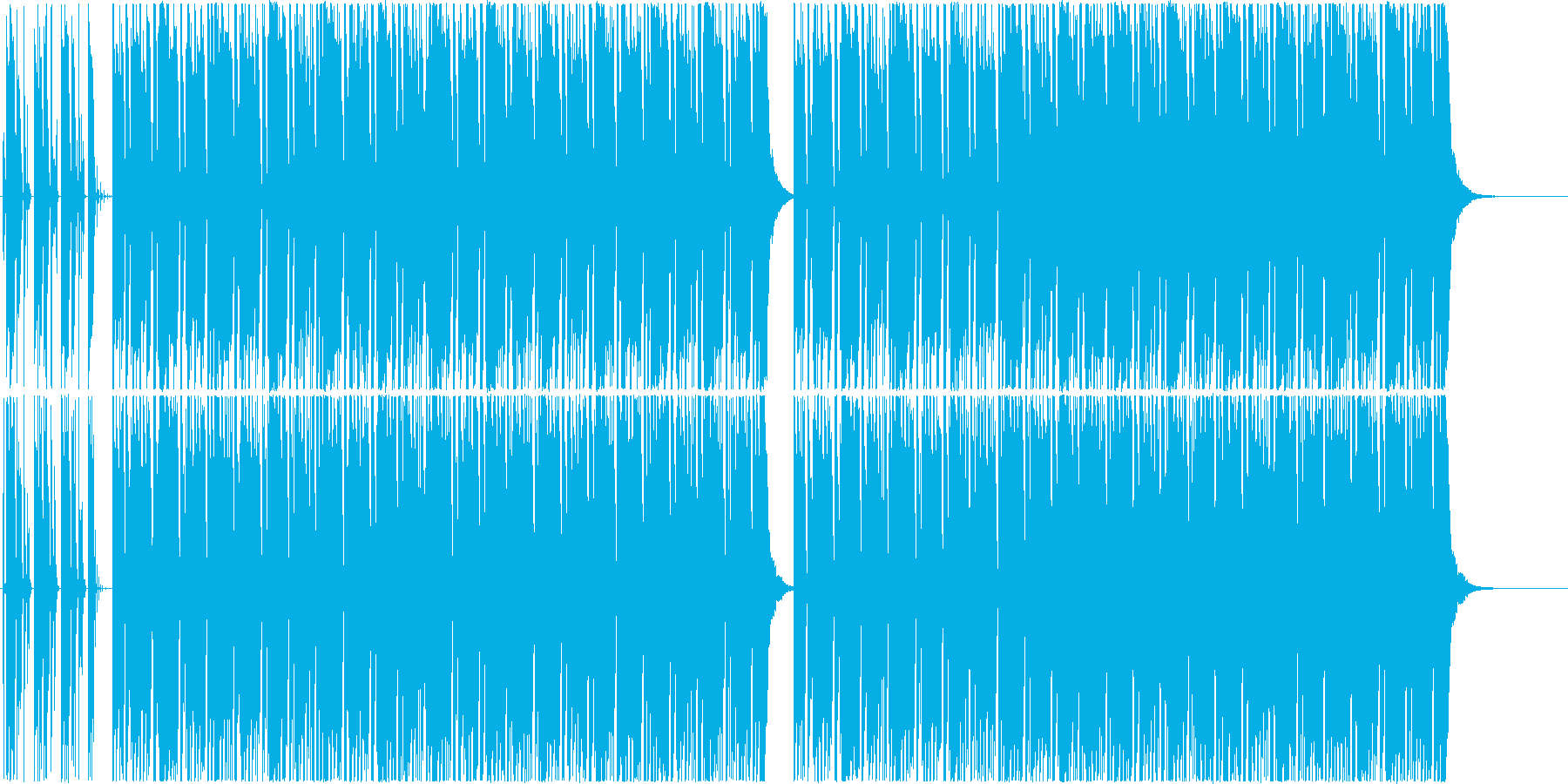 ブルゾンちえみの35億のようなBGMの再生済みの波形