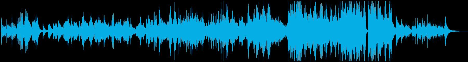 ふるさと(故郷)ピアノのみ_カラオケの再生済みの波形