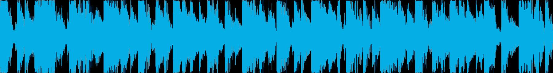 BGM07 クラビネット 10秒ループの再生済みの波形