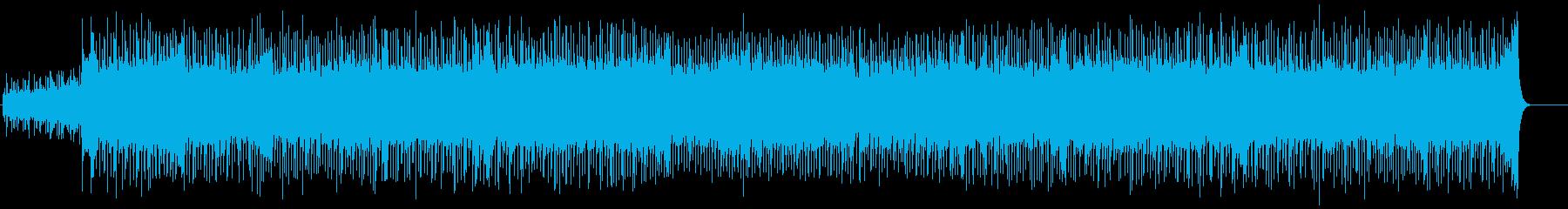 軽快なテクノ・ポップ(フルサイズ)の再生済みの波形