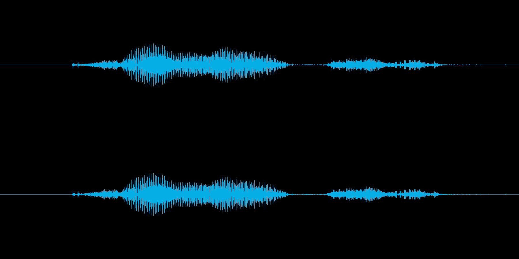【月】9月の再生済みの波形