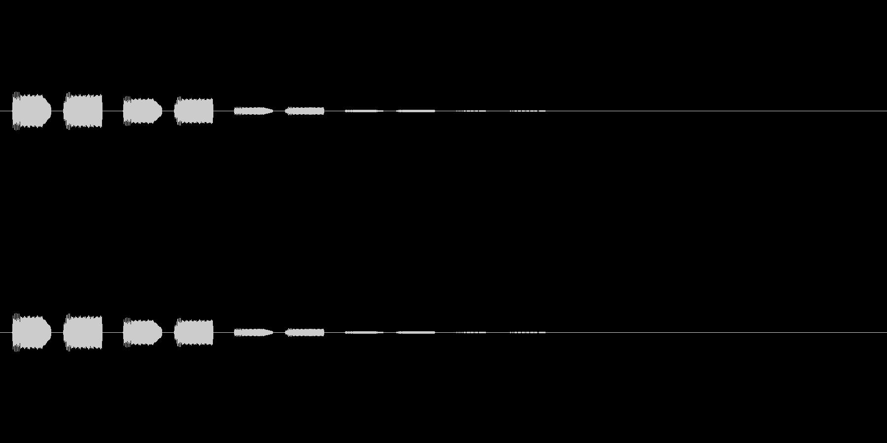 【アクセント08-8】の未再生の波形