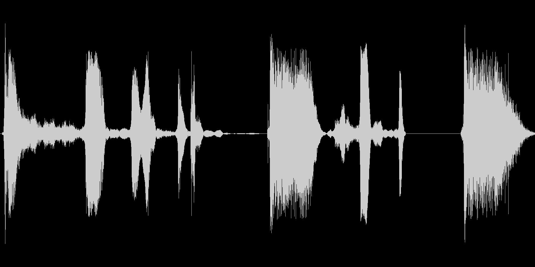 ウフフフッ ウフフフッの未再生の波形