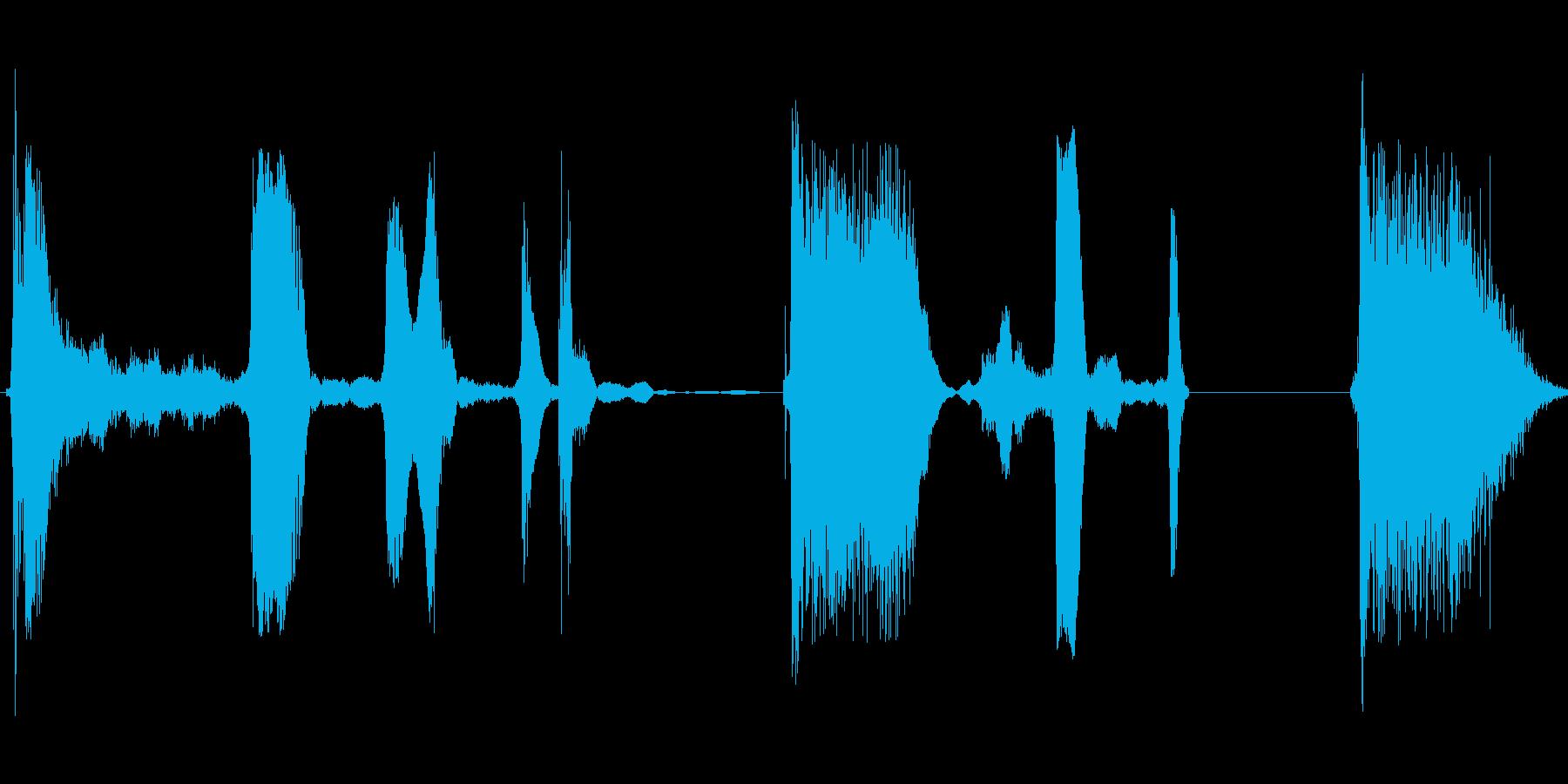 ウフフフッ ウフフフッの再生済みの波形