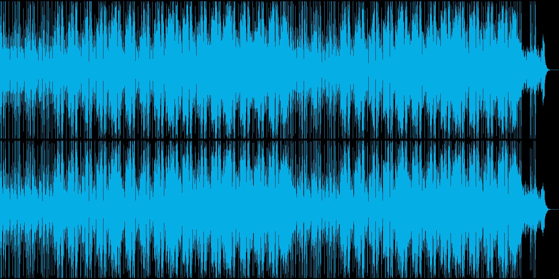 メロウなファンクミュージック!04の再生済みの波形
