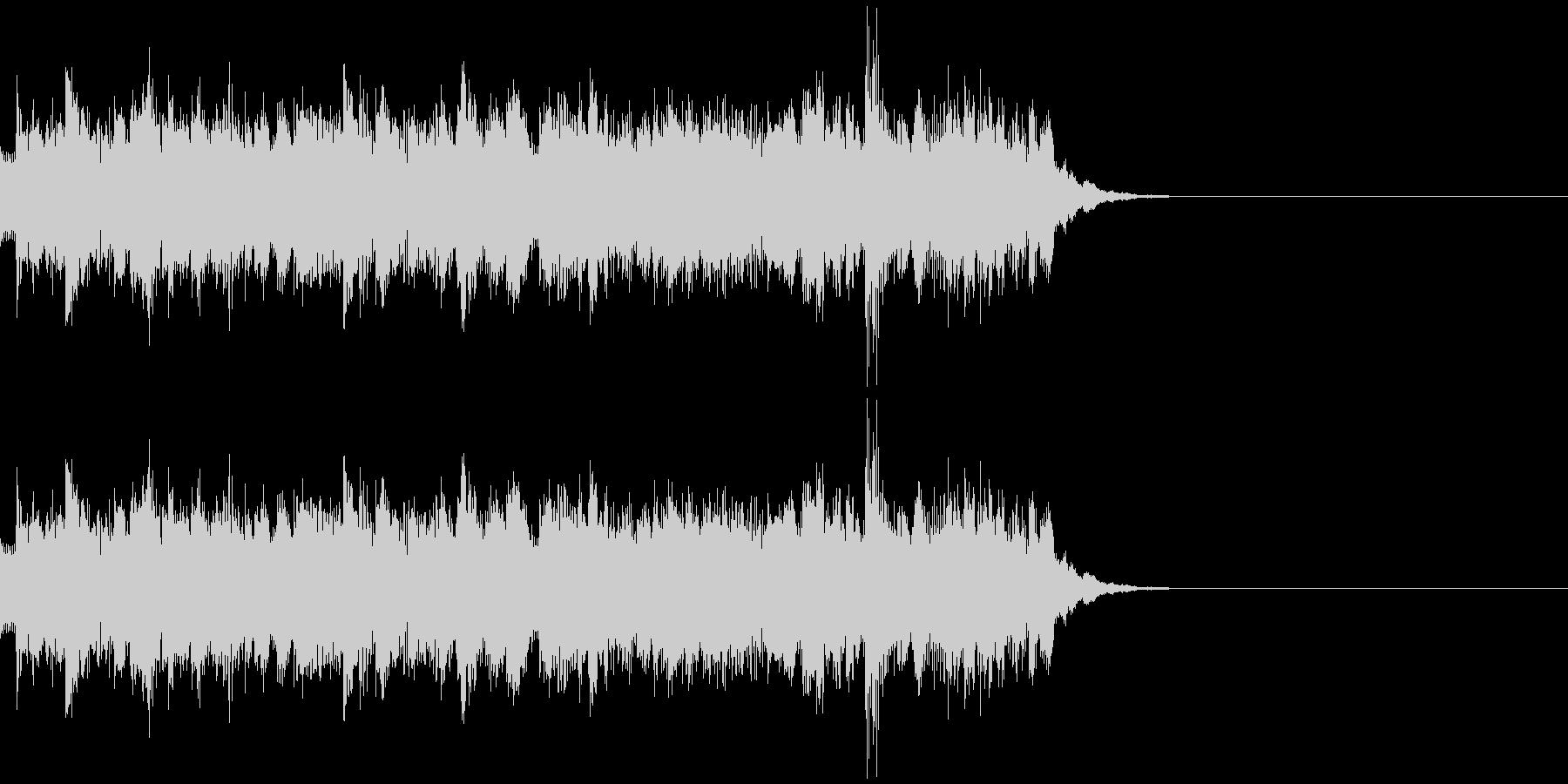 スリリングな音 の未再生の波形