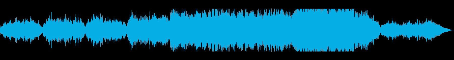 美しく透明感のあるシンセサウンドの再生済みの波形