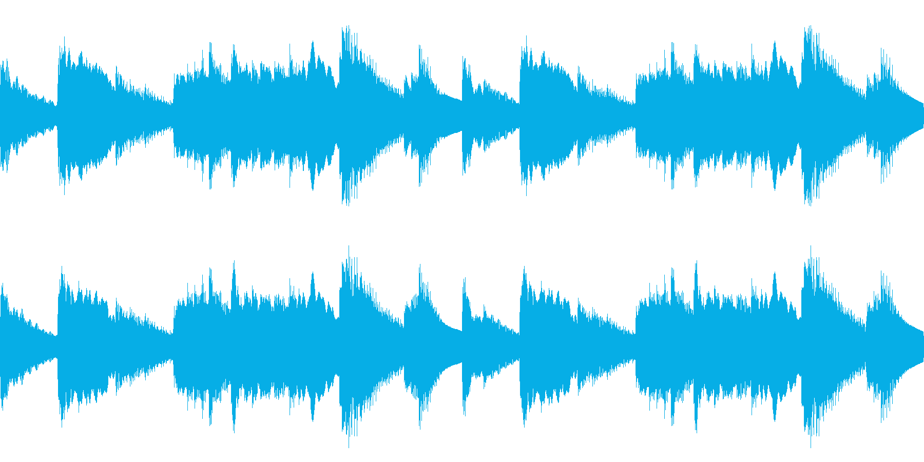 しっとりした雰囲気 (ループ仕様)の再生済みの波形