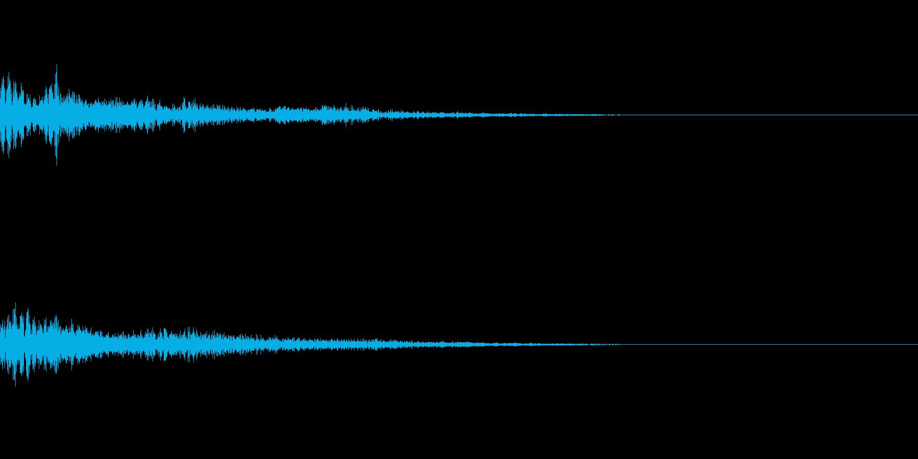 【Horror】戻る【カーソル】の再生済みの波形