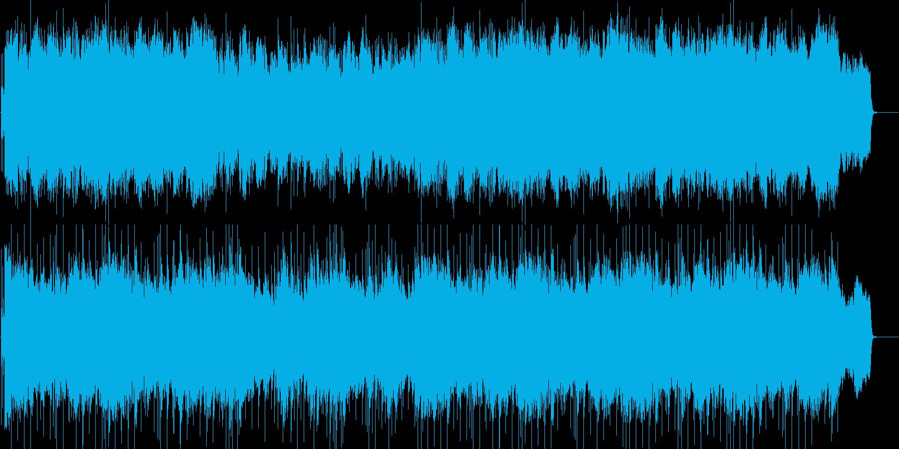 感動的なシーン向けの希望に満ちたBGMの再生済みの波形