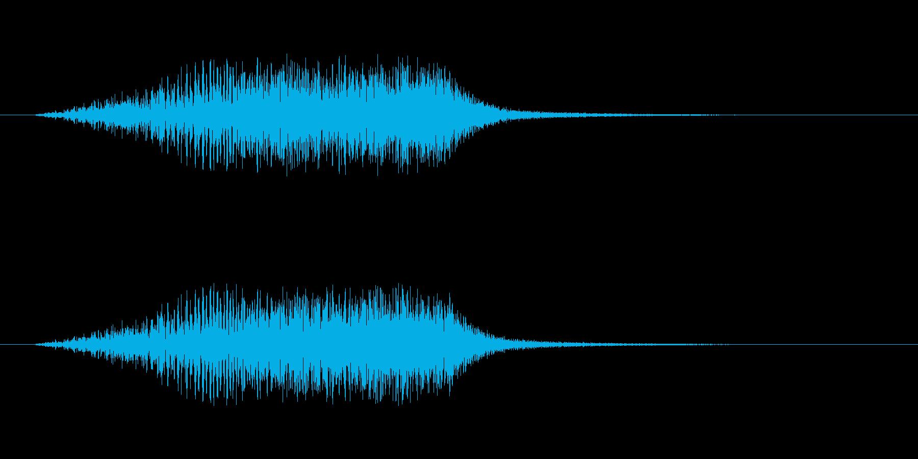 【ショートブリッジ16-3】の再生済みの波形