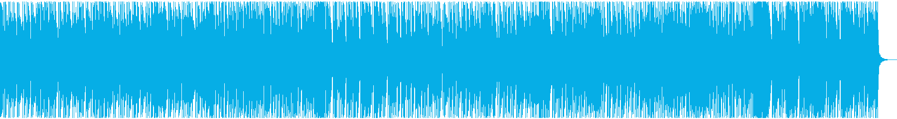 アコースティックでノスタルジックな曲の再生済みの波形
