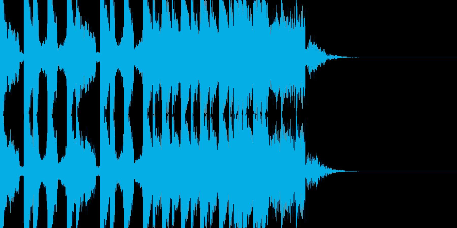 BPM128EDMビルドアップです。の再生済みの波形