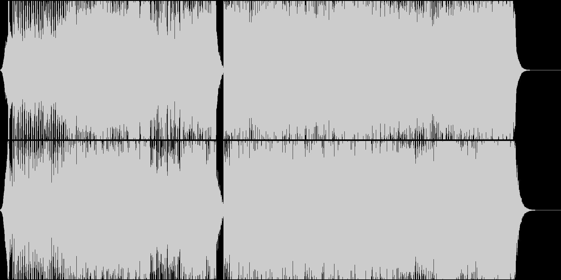 アニメオープニング主題歌のような曲01の未再生の波形