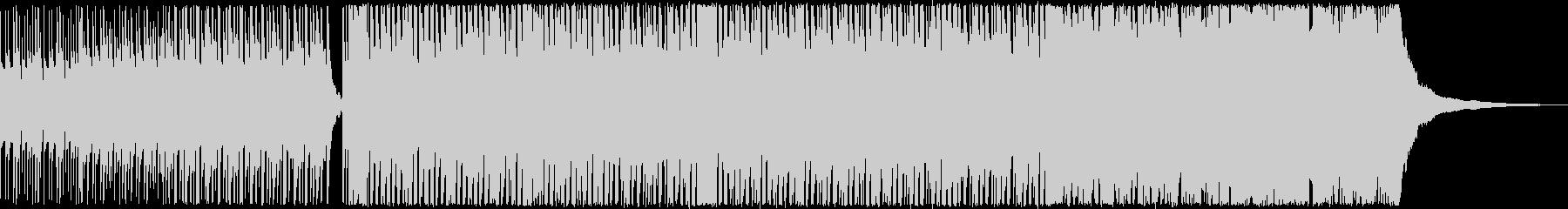 クラップで始まるカジュアルなポップスの未再生の波形