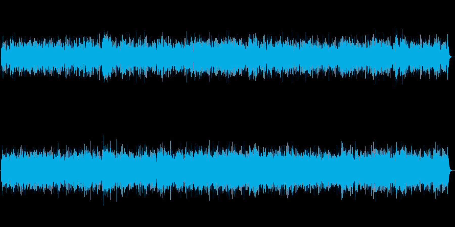 キュートでドラマチックなジャズの再生済みの波形