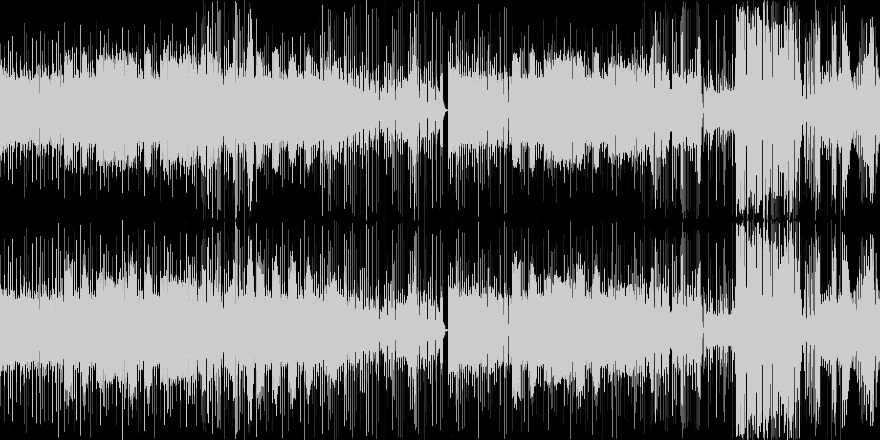 タイト、キメキメ、グイグイのハードロックの未再生の波形