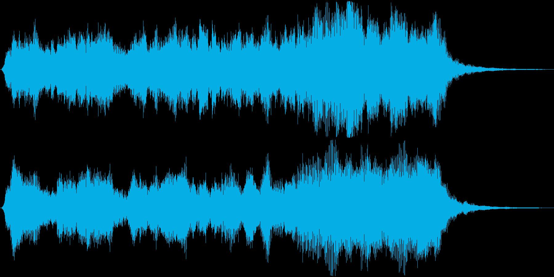 短めのシーンを演出する音です。の再生済みの波形