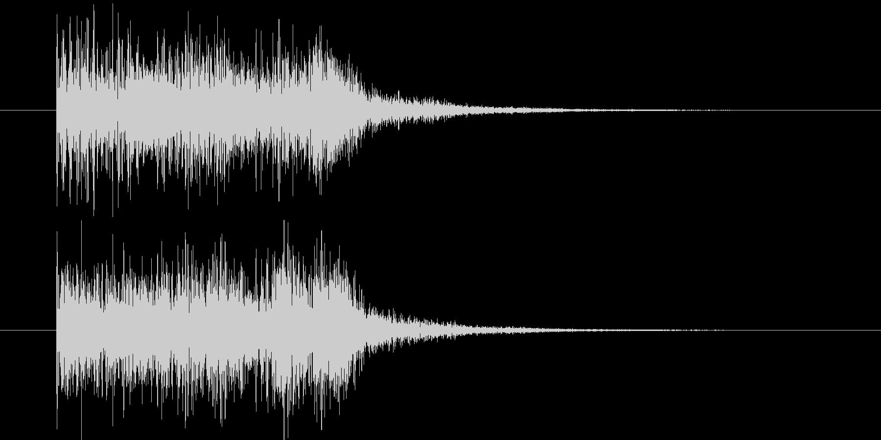 ドルリドルリドルリの未再生の波形