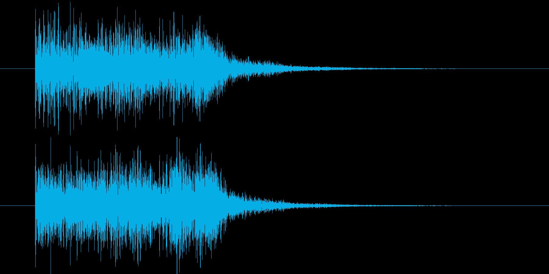 ドルリドルリドルリの再生済みの波形