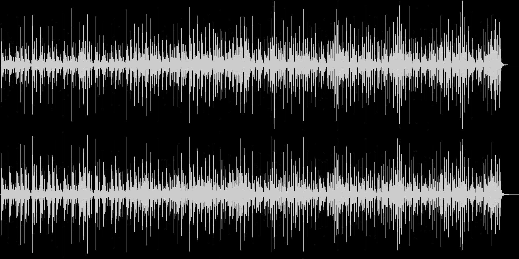 ほのぼのかわいいマーチの未再生の波形