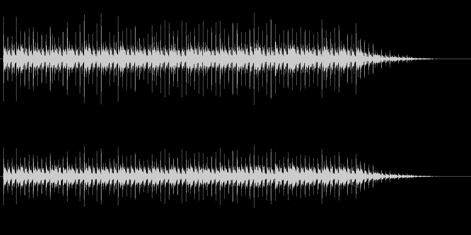 キラキラした日常系エレクトロニカの未再生の波形