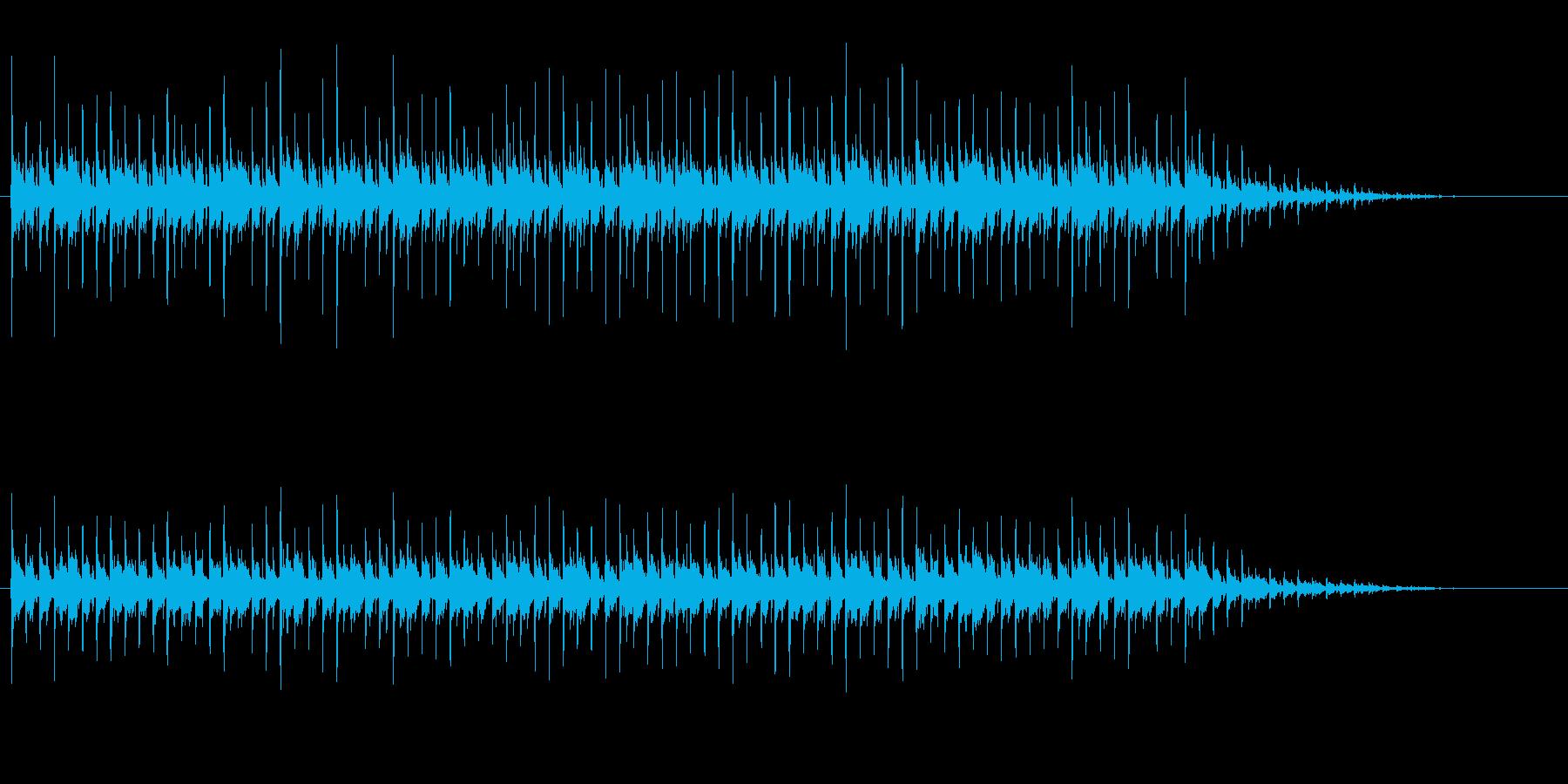 キラキラした日常系エレクトロニカの再生済みの波形