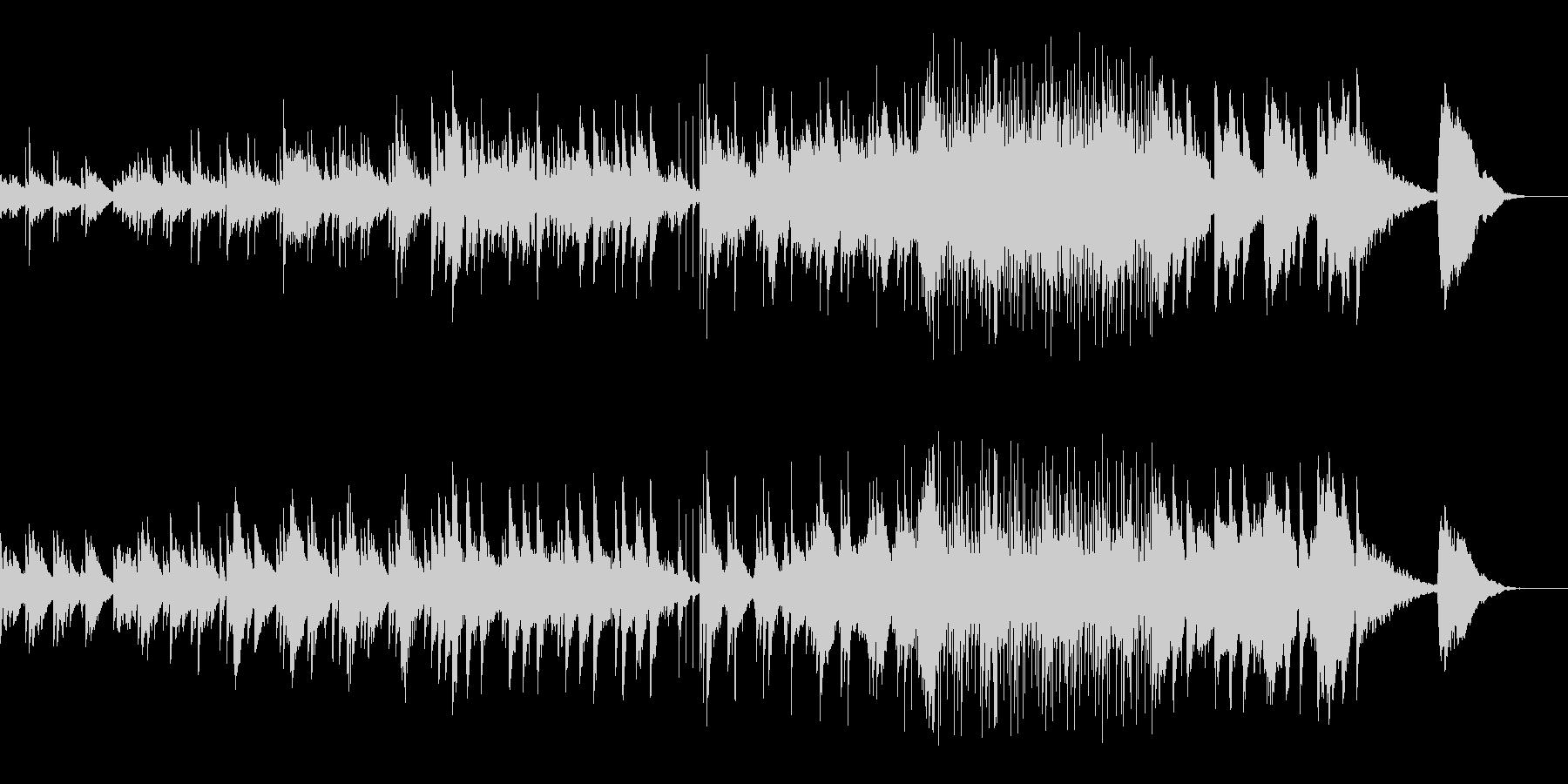 アコギタとピアノメインのインストの未再生の波形