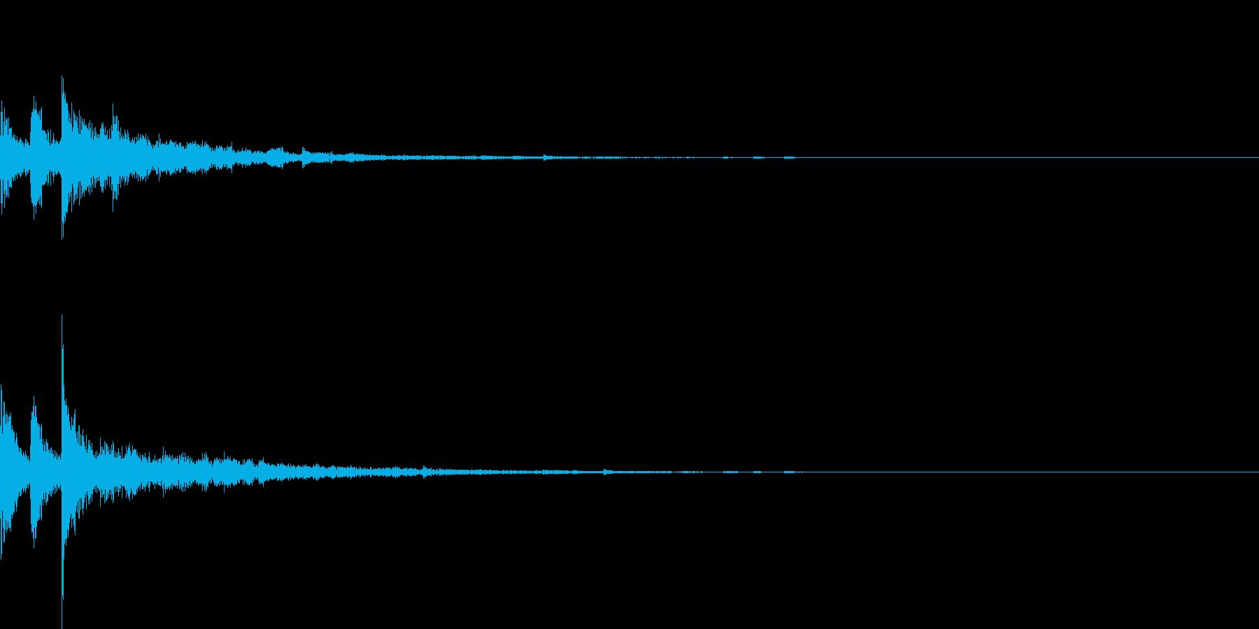 ぽろん♪(連鎖08)の再生済みの波形