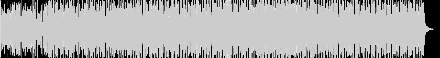 ウクレレと口笛の軽快な可愛い曲の未再生の波形