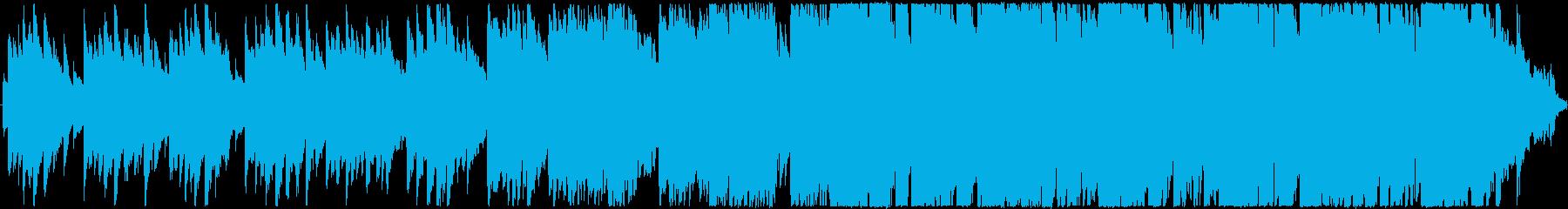 小さい頃の思い出をイメージしたBGMの再生済みの波形