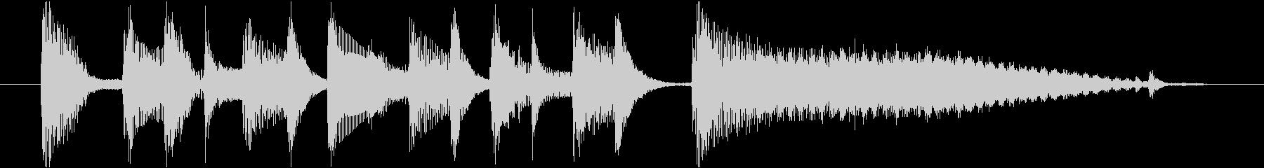 ジングル(ボサノヴァ)の未再生の波形