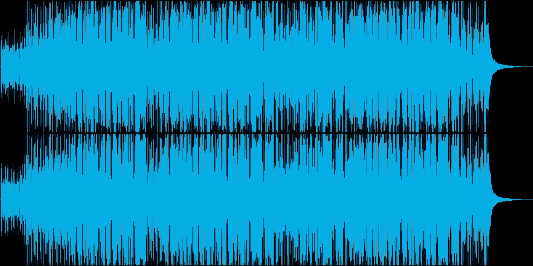 5拍子ジャズの再生済みの波形