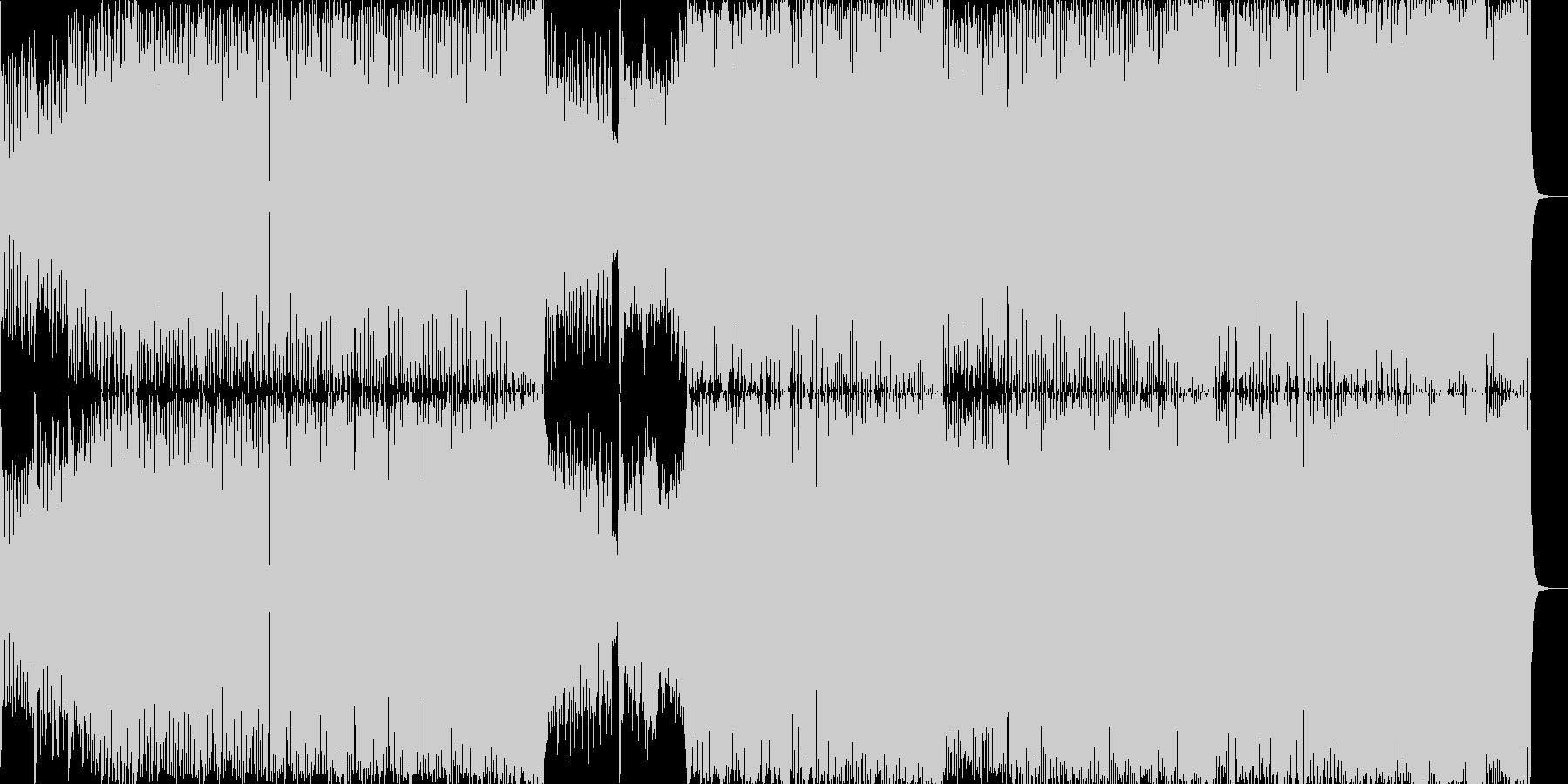 DDRっぽいトランス曲の未再生の波形