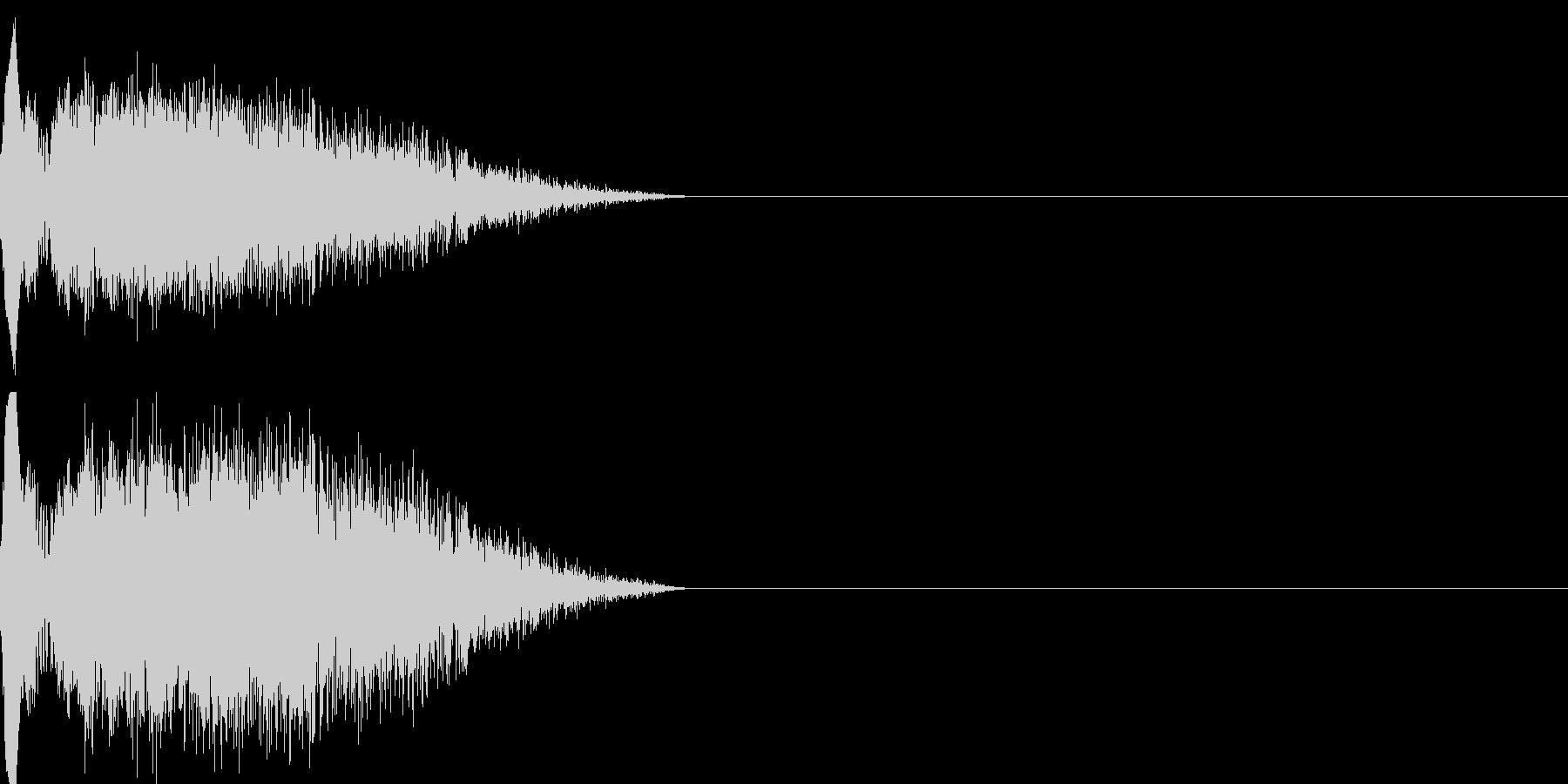 ショット_その4の未再生の波形